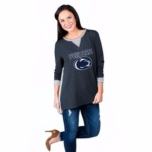 Tops - PENN STATE | Striped & Solid Long Sleeve Top #10